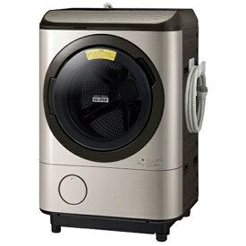 【無料長期保証】日立 BD-NX120FL N ドラム式洗濯乾燥機 ビッグドラム (洗濯12kg・乾燥7kg) 左開き ステンレスシャンパン