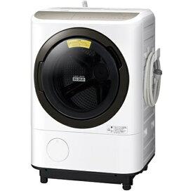 【無料長期保証】日立 BD-NV120FL W ドラム式洗濯乾燥機 ビッグドラム (洗濯12kg・乾燥7kg) 左開き ホワイト
