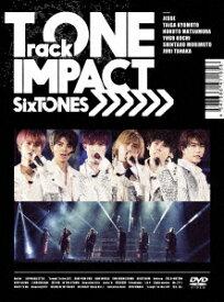 【DVD】SixTONES / TrackONE -IMPACT-(初回盤)
