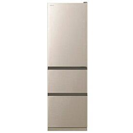 【無料長期保証】日立 R-V32NV N 3ドア冷蔵庫(315L・右開き) シャンパン