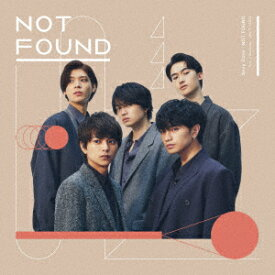 【CD】Sexy Zone / NOT FOUND(通常盤)