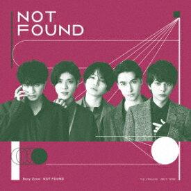 【CD】Sexy Zone / NOT FOUND(初回限定盤A)(DVD付)