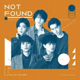 【CD】Sexy Zone / NOT FOUND(初回限定盤B)(DVD付)