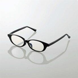 エレコム G-BUC-W03LBK キッズ用ブルーライト対策メガネ ブラック Lサイズ