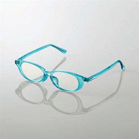 エレコム G-BUC-W03LBU キッズ用ブルーライト対策メガネ ブルー Lサイズ