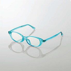 エレコム G-BUC-W03MBU キッズ用ブルーライト対策メガネ ブルー Mサイズ