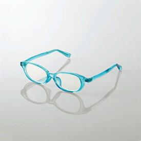 エレコム G-BUC-W03SBU キッズ用ブルーライト対策メガネ ブルー Sサイズ