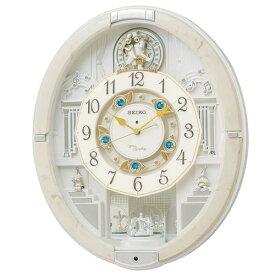 セイコークロック RE576A 電波からくり時計 音量調節機能 時報モニター スイープセコンド 回転飾り付