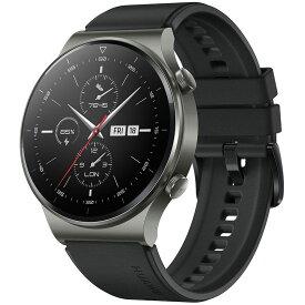HUAWEI ファーウェイ WATCH GT 2 Pro/BK Night Black VID-B19 腕時計 メンズ 心拍数 歩数 睡眠 血中酸素測定