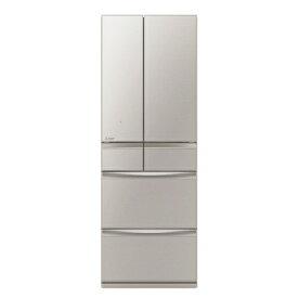 【無料長期保証】三菱電機 MRMX50G-C 6ドア冷蔵庫 「置けるスマート大容量」MXシリーズ (503L・フレンチドア) グレイングレージュ
