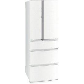 【無料長期保証】三菱電機 MR-R46G-W 6ドア冷蔵庫(462L・フレンチドア) クロスホワイト