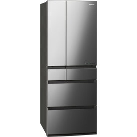 【無料長期保証】パナソニック NR-F607WPX-X 6ドアIoT対応冷蔵庫 WPXシリーズ (600L・フレンチドア) オニキスミラー(ミラー加工)