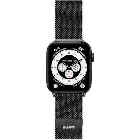 LAUT LAUT_AWL_ST_BK Apple Watch 1/2/3/4 42/44mm BAND ブラック