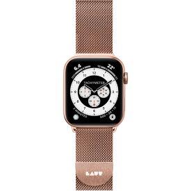 LAUT LAUT_AWS_ST_RG Apple Watch 1/2/3/4 38/40mm BAND ローズゴールド