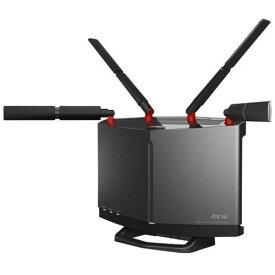 バッファロー WXR6000AX12S 無線LANルーター チタニウムグレー