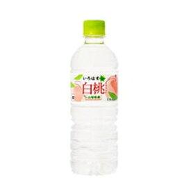 コカ・コーラ いろはす白桃 555ml ×24本【セット販売】