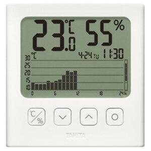 タニタ TT-580-WH デジタル温湿度計 ホワイト
