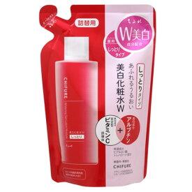 ちふれ化粧品 美白化粧水Wしっとりタイプ詰替用 ちふれ 180mL