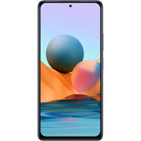 Xiaomi Redmi Note 10 Pro Glacier Blue SIMフリースマートフォン グレイシャーブルー