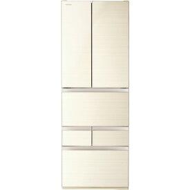 【無料長期保証】東芝 GR-T510FH-ZC 6ドア冷凍冷蔵庫 (509L・フレンチドア) ラビスアイボリー