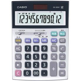 カシオ計算機 DS20DCN 電卓 CASIO 12桁デスク