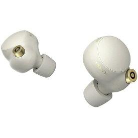 ソニー WF-1000XM4SM ワイヤレスノイズキャンセリングステレオヘッドセット シルバー 完全ワイヤレスイヤホン