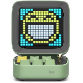 DIVOOM DITOO-PLUS GREEN Bluetoothスピーカー グリーン