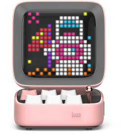 DIVOOM DITOO-PLUS PINK Bluetoothスピーカー ピンク