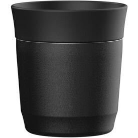 ピーコック魔法瓶 ATE30 焼酎タンブラー おうち居酒屋シリーズ 270ml ブラック