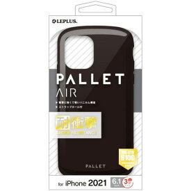 MSソリューションズ iPhone 13 Pro 耐衝撃ケース PALLET AIR ブラック LP-IP21PLABK