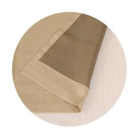 遮光 裏地カーテン シャコウライナー ベージュ 巾105cm×丈130cm 2枚入