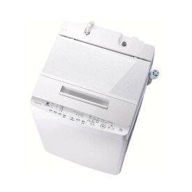 【無料長期保証】東芝 AW-10SD8(W) 全自動洗濯機 ZABOON(ザブーン) 洗濯10.0kg グランホワイト