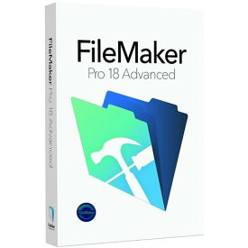 ファイルメーカー FileMaker Pro 18 Advanced HMWX2J/A