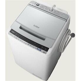 【ポイント10倍!7月19日(金)20:00〜】【無料長期保証】日立 BW-V90E S 全自動洗濯機 (洗濯9.0kg) シルバー