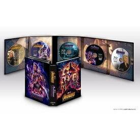 【BLU-R】アベンジャーズ/エンドゲーム&インフィニティ・ウォー MovieNEXセット ブルーレイ+DVD(数量限定)