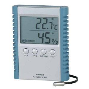 エンペックス TD-8172 デジコンフォII(デジタル湿度計/内・外温度計)