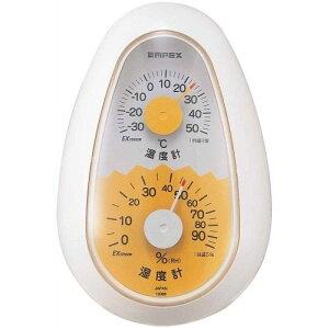 エンペックス TM-2321 起き上がりこぼし温度・湿度計