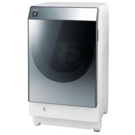 【無料長期保証】シャープ ES-W112-SL ドラム式洗濯乾燥機 (洗濯11.0kg/乾燥6.0kg・左開き) シルバー系