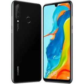 【ポイント10倍!】Huawei(ファーウェイ)  P30 lite/Midnight Black/51093NRR