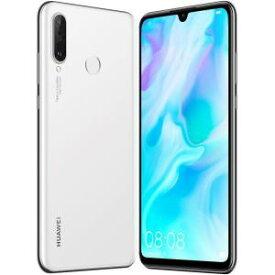 【ポイント10倍!】Huawei(ファーウェイ)  P30 lite/Pearl White/51093NRV