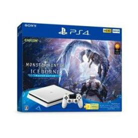"""【ポイント10倍!】PlayStation4 """"モンスターハンターワールド:アイスボーン マスターエディション"""" Starter Pack White CUHJ-10031"""