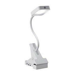 ヤザワ CLLD02WH 乾電池式LEDクリップ式スタンドライト センサータイプ (23lm)
