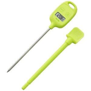 タニタ TT-584-GR キッチン用デジタル温度計 グリーン