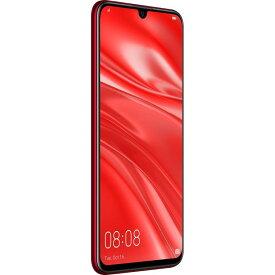 【ポイント10倍!9月20日(金)00:00〜23:59まで】Huawei(ファーウェイ) nova lite 3/Coral Red