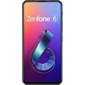 【ポイント10倍!10月23日(水)20:00〜】ASUS ZS630KL-BK128S6 SIMフリースマートフォン ZenFone 6 ミッドナイトブラック