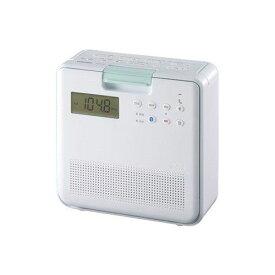 【ポイント10倍!11月15日(金)00:00〜23:59まで】東芝 TY-CB100-W SD/CDラジオ ホワイト