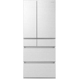 【ポイント2倍!3月29日(日)00:00〜】【無料長期保証】パナソニック NR-F655HPX-W 6ドア冷蔵庫(650L・フレンチドア) アルベロホワイト