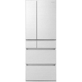 【ポイント2倍!3月29日(日)00:00〜】【無料長期保証】パナソニック NR-F605HPX-W 6ドア冷蔵庫(600L・フレンチドア) アルベロホワイト