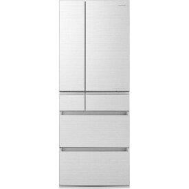 【ポイント2倍!3月29日(日)00:00〜】【無料長期保証】パナソニック NR-F555HPX-W 6ドア冷蔵庫(550L・フレンチドア) アルベロホワイト