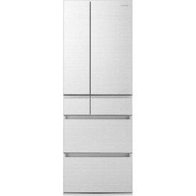 パナソニック NR-F505HPX-W 6ドア冷蔵庫(500L・フレンチドア) アルベロホワイト